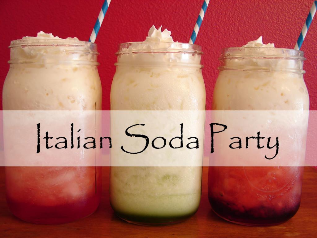 Italian Soda Party
