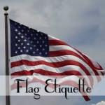 Flag etiquette recipes home decor diy wellness for Flag etiquette at home
