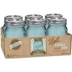 vintage blue ball jars